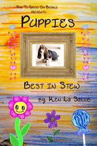 FTGO Puppies Kindle Cover